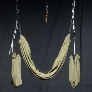 yoga meditation hammock